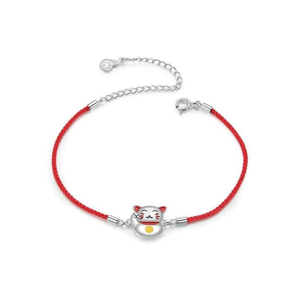 Bracelet Porte Bonheur Maneki Neko