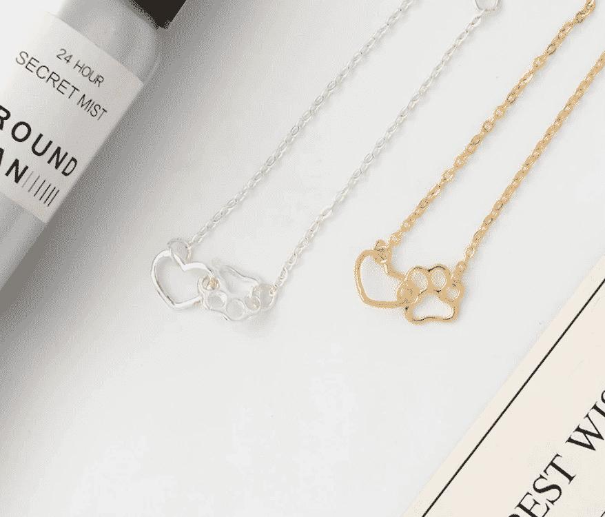 Bracelet chat argent La Patte de l'amour 5