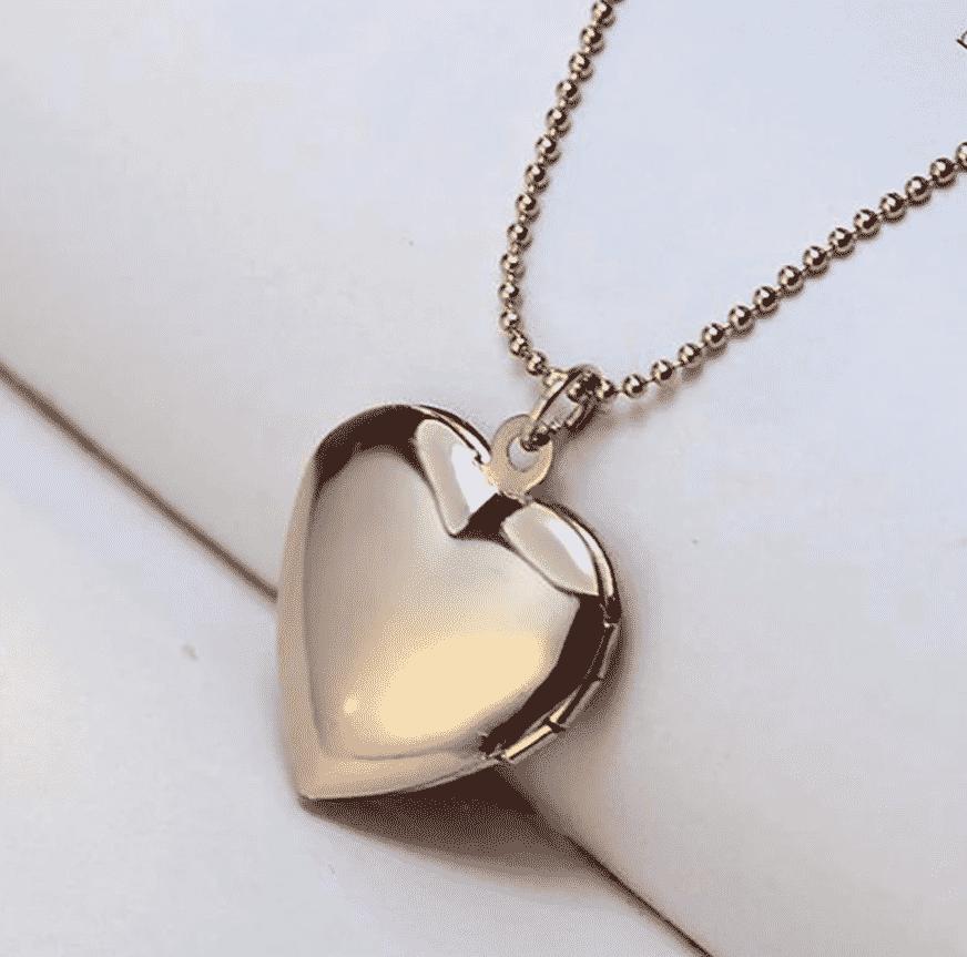 Collier chat au grand cœur et patte de l'amour 3